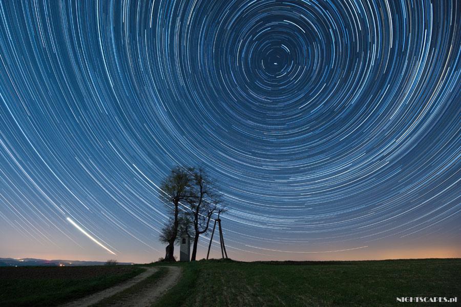 Fotografia pozornego ruchu gwiazd