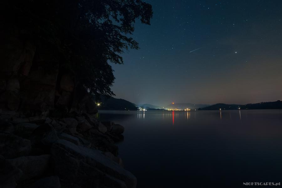 Perseid Jezioro Rożnowskie