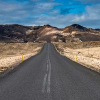 Droga na Islandii.