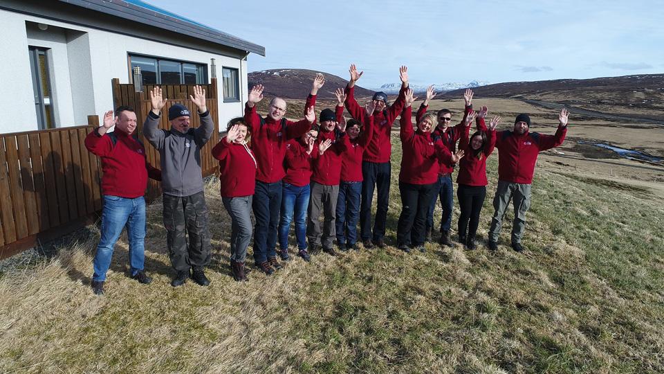 Uczestnicy wyprawy Islandia 2017.