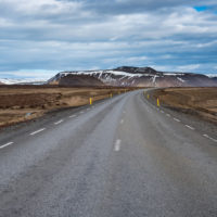 Typowa Islandzka droga