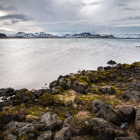 Jezioro Þingvallavatn.