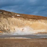 Krýsuvík - gorące źródła.