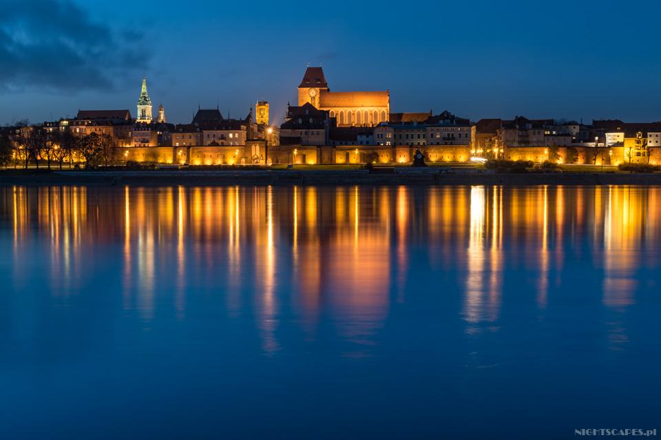 Wieczorny Toruń