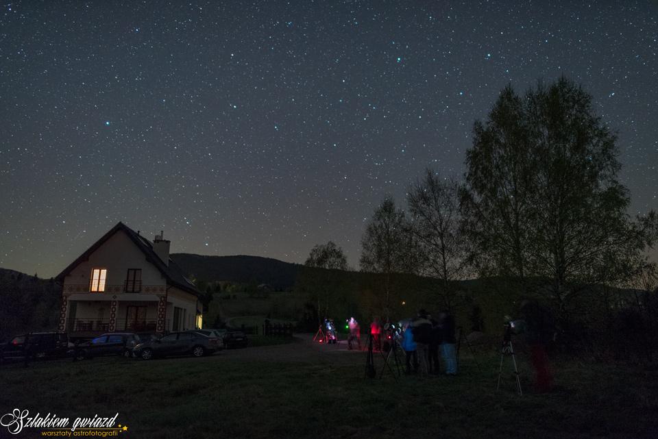 Warsztaty astrofotografii 2020
