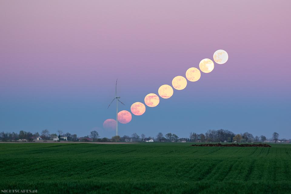 Fazy wschodu pełni Księżyca. Księżyc jak narkotyk.