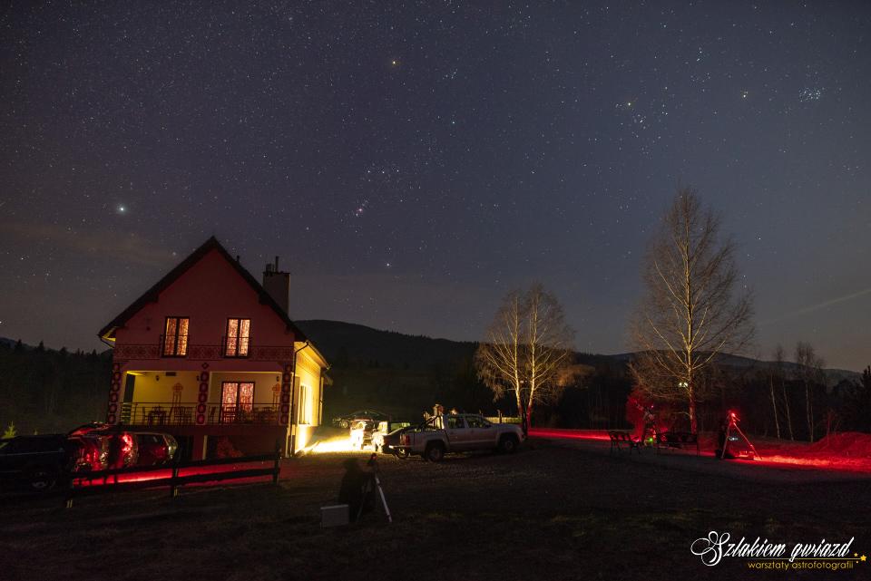 Warsztaty astrofotografii wBieszczadach