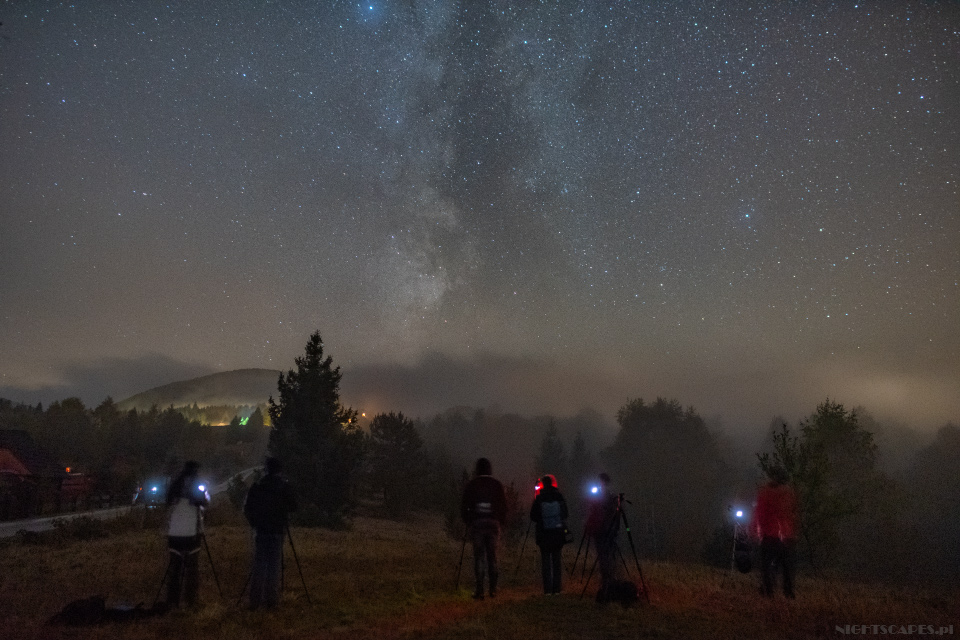 Bieszczady - warsztaty astrofotografii